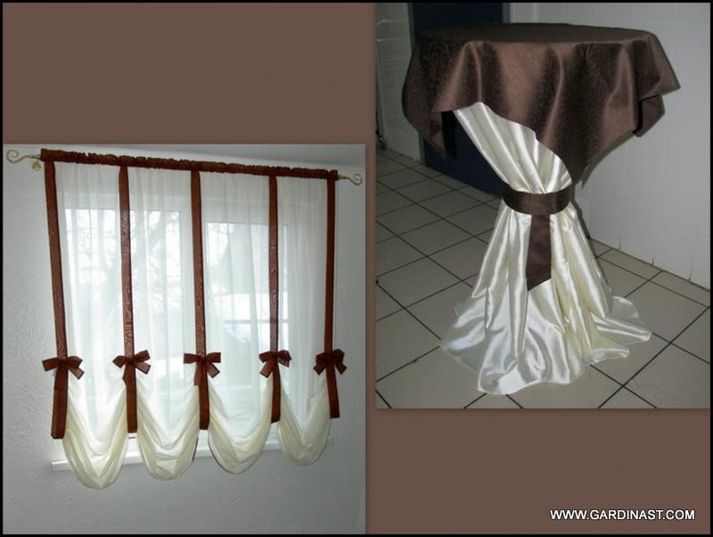 Изготовление австрийской шторы