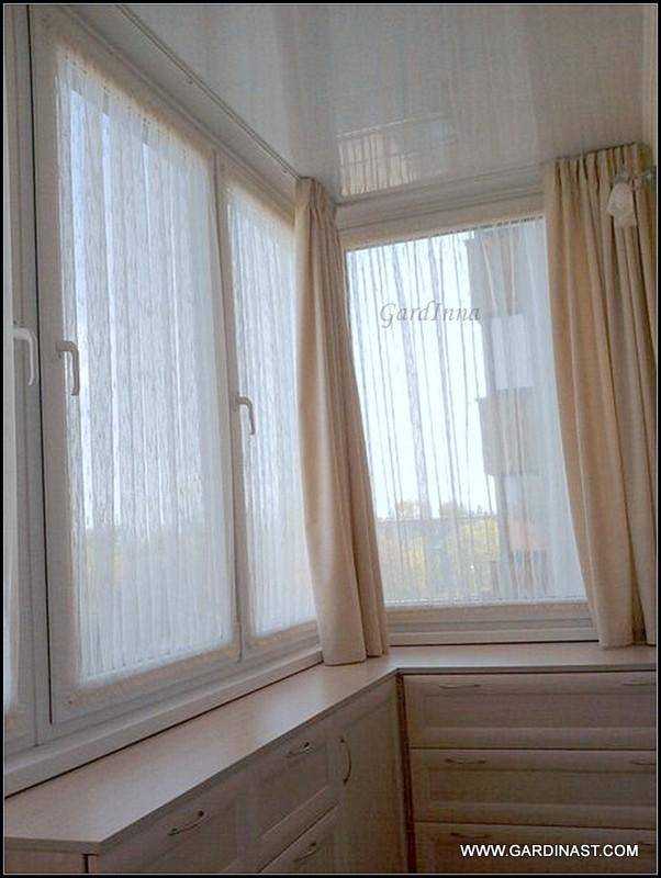 Как сделать шторы на балкон своими руками?.