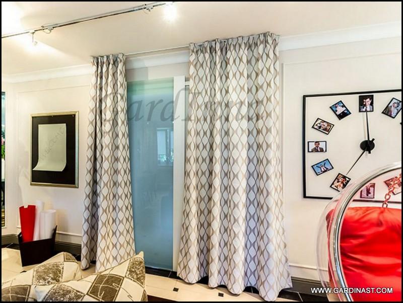Дизайн штор для зала новинки 2017 в квартире