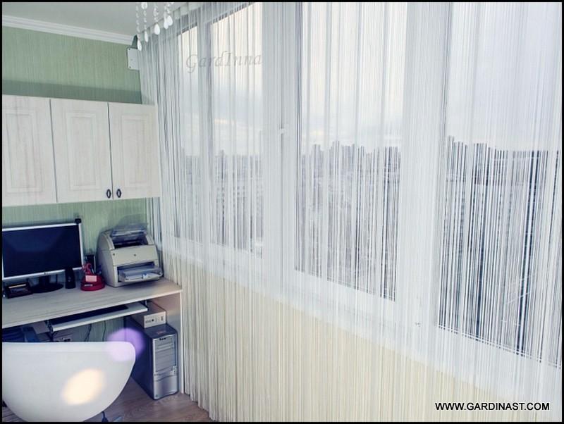 Фото галерея нитяных штор, фото шторы, красивые фото штор, и.